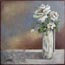 Miniature Painting White Roses Atelier for Hope Art