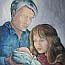 Atelier for Hope Paintings | Biblical -  the birth | by Fenna Moehn Hummel