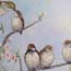 Painting just live! like a sparrow, biblical inspired paintings Atelier for Hope Doetinchem