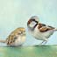 painting the sparrow, biblical paintings the netherlands